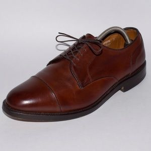 """Allen Edmonds Mens Size 10.5 E """"Fairgate"""" Brown"""